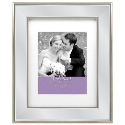 Occasions Marina Mirrored Picture Frame in Silver
