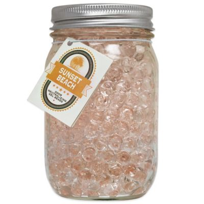 Smells Begone® 12 oz. Mason Jar Odor Neutralizing Gel Beads in Sunset Beach