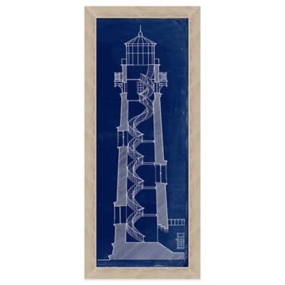 Lighthouse Blueprint Section 2 Wall Art