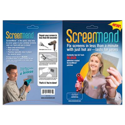 ScreenMend Screen Patch in Black