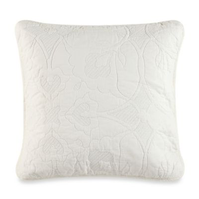 Barbara Barry 174 Haiku Square Throw Pillow In Bone