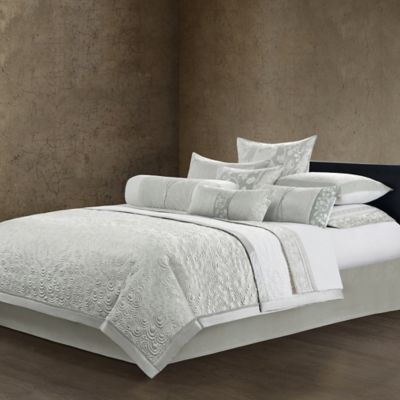Natori Madame Ning Reversible Queen Coverlet