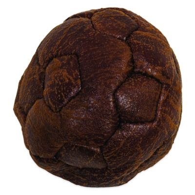 Howard Pet Vintage Flat Soccer Ball Dog Toy