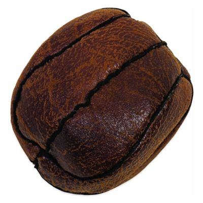 Howard Pet Vintage Flat Basketball Dog Toy