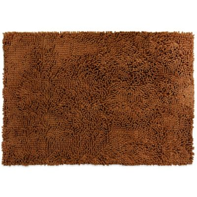 Comfy Pooch Orthopedic Microfiber Pet Crate Mat in Brown