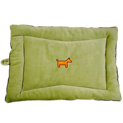 Simply Fido Organic Cotton Large Crate Mat in Green