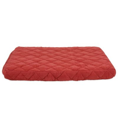 Carolina Pet Company Medium Quilted Orthopedic Jamison Pet Bed in Red