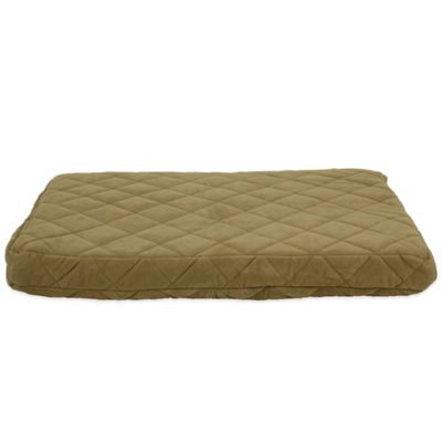 Carolina Pet Company Medium Quilted Orthopedic Jamison Pet Bed in Sage