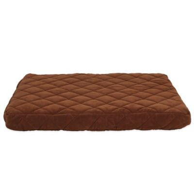 Carolina Pet Company Small Quilted Orthopedic Jamison Pet Bed in Chocolate