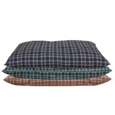 Carolina Pet Company Small Indoor/Outdoor Shebang Pet Bed in Blue Plaid
