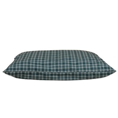 Blue and Green Plaid Bedding