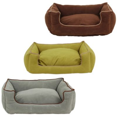 Carolina Pet Company Small Low-Profile Kuddle Pet Lounge in Chocolate