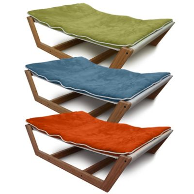 Pet Lounge Studios Large Bambu Hammock II in Tango Orange