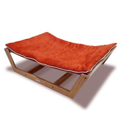Pet Lounge Studios Medium Bambu Hammock II in Tango Orange