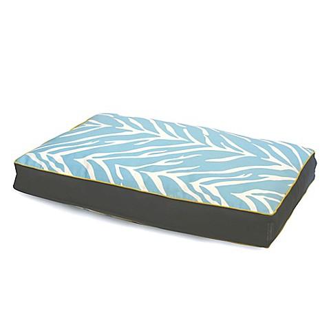 Buy EZ Living Home Zebra Memory Foam Medium Water Repellent Pet Pillow Bed I