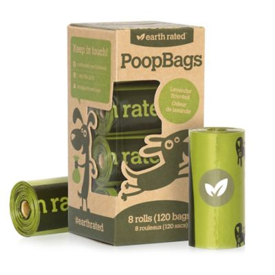 Earth Rated PoopBags™ 8-Count Refill Roll Bags Dispenser