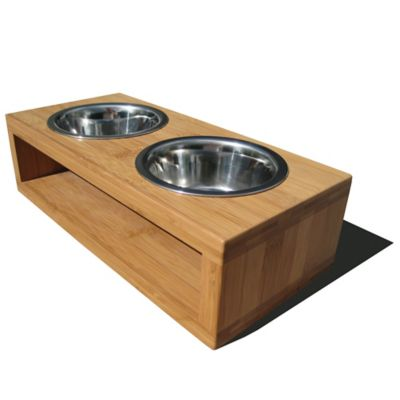Bambu Small Diner in Bamboo/Stainless Steel