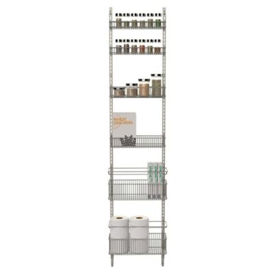 .ORG Premium Over-the-Door Steel Frame Pantry Organizer in Nickel