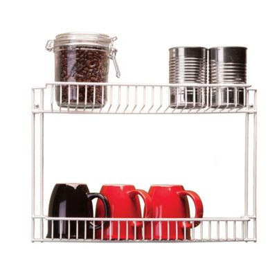 2-Tier Organizer in White
