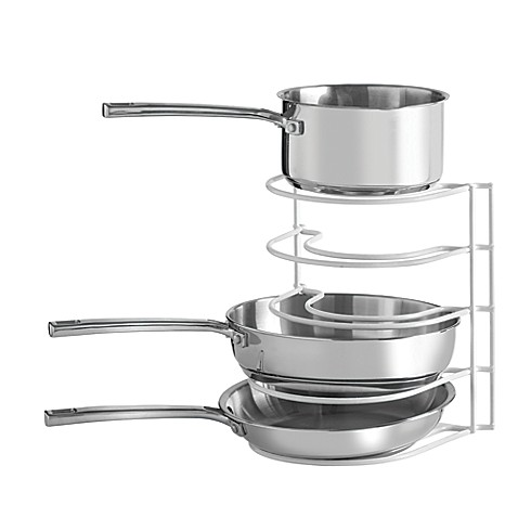 Grayline Pot And Pan Organizer Rack Bed Bath Amp Beyond