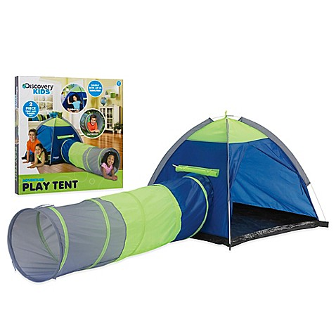 Discovery Kids™ Adventure Play Pop-Up Tent and Tunnel Tube
