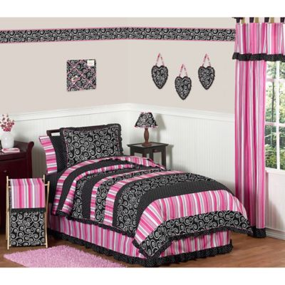 Sweet Jojo Designs Madison 4-Piece Twin Comforter Set
