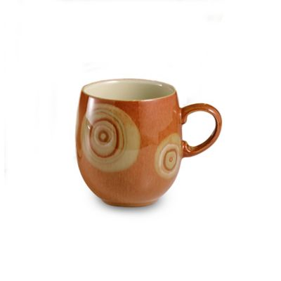 Denby Chilli 14-Ounce Large Mug in Deco/Cream