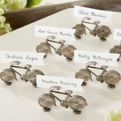 Kate Aspen® Le Tour Bicycle Place Card/Photo Holders (Set of 6)