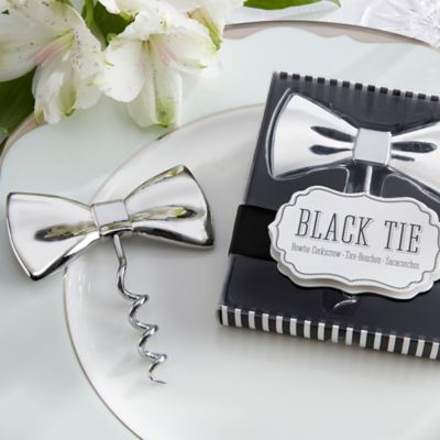 Kate Aspen® Black Tie Bowtie Corkscrew