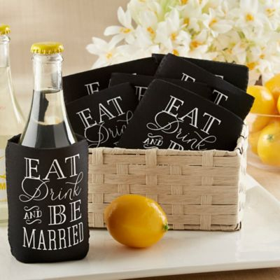 Eat Drink & Be Married Can Cozie