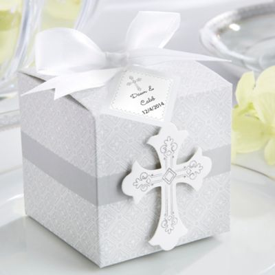 Kate Aspen® Blessings Favor Box (Set of 24)