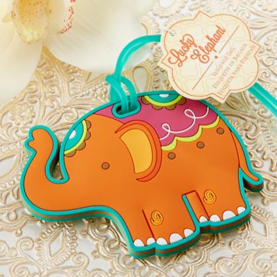 Kate Aspen® Lucky Elephant Luggage Tag