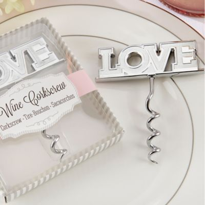 "Kate Aspen® ""Love"" Corkscrew"