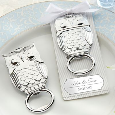 "Kate Aspen® ""Whooo's in Love"" Owl Bottle Opener"