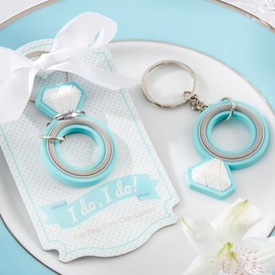 "Kate Aspen® ""I Do, I Do!"" Engagement Ring Keychain"