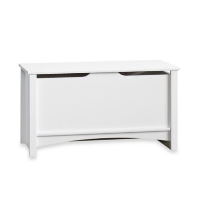 Matte White Storage Chest
