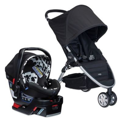 BRITAX B-Agile 3/B-Safe 35 Elite Travel System in Cowmooflage