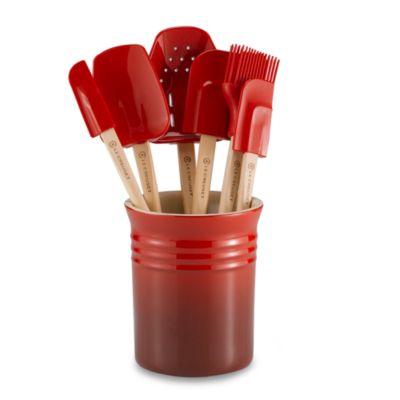Le Creuset® 7-Piece Spatula Set in Red