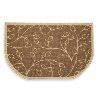 Bacova Leaf 22.5-Inch x 35.5-Inch Oversized Kitchen Rug