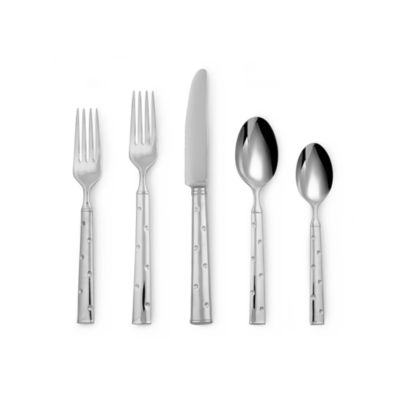 kate spade new york Larabee Dot™ Flatware 5-Piece Place Setting