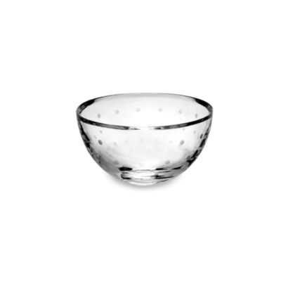 kate spade new york Larabee Dot™ Crystal 6-Inch Round Bowl