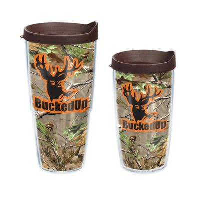 Tervis® Bucked Up® Logo Realtree® Wrap 16 oz. Tumbler with Lid