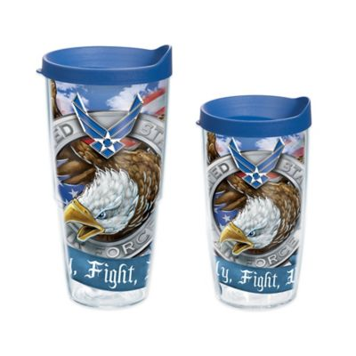 Tervis® Air Force Eagle Wrap 16 oz. Tumbler with Lid