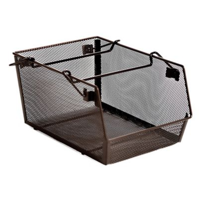Stacking Kitchen Bin in Mesh Bronze