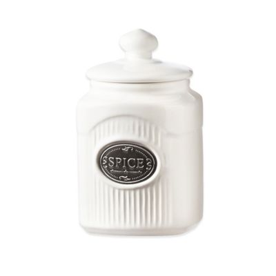 Global Amici Yorkshire 8 oz. Ceramic Spice Canister