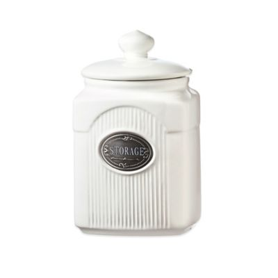 Global Amici Yorkshire 32 oz. Ceramic Storage Canister