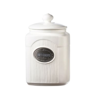 Global Amici Yorkshire 70 oz. Ceramic Dry Goods Canister