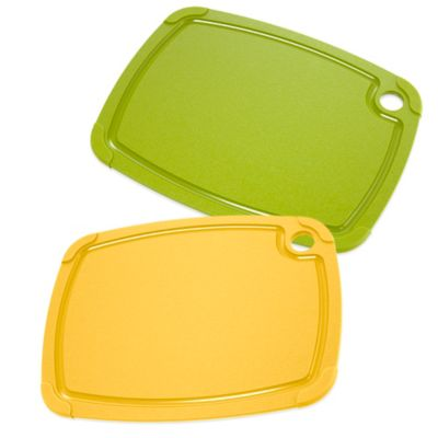 Epicurean® 11.25-Inch x 14.5-Inch Eco Plastic Cutting Board in Yellow