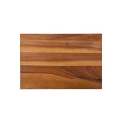 18-Inch x 12-Inch Acacia Two Tone Cutting and Serving Board