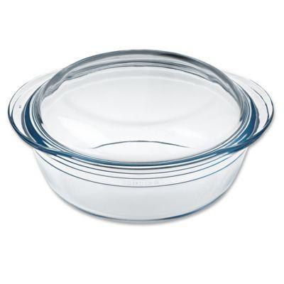 Arcuisine 2.4 qt. Round Casserole Dish with Lid